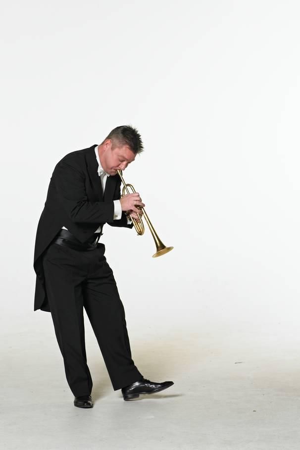 Henrik Hou, trompet. Foto: Odense Symfoniorkester.